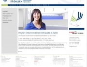 Orthopädie, St. Gallen, Website, Homepage, Programmierung, Entwicklung, Webdesign, Web, Internetauftritt, Firma, Unternehmen