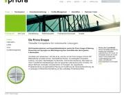 Priora, AG, Gruppe, Immobilien, Facility Management, Generalunternehmung, Business Center, Website, Homepage, Programmierung, Entwicklung, Webdesign, Web, Internetauftritt, Firma, Unternehmen, Weblooks